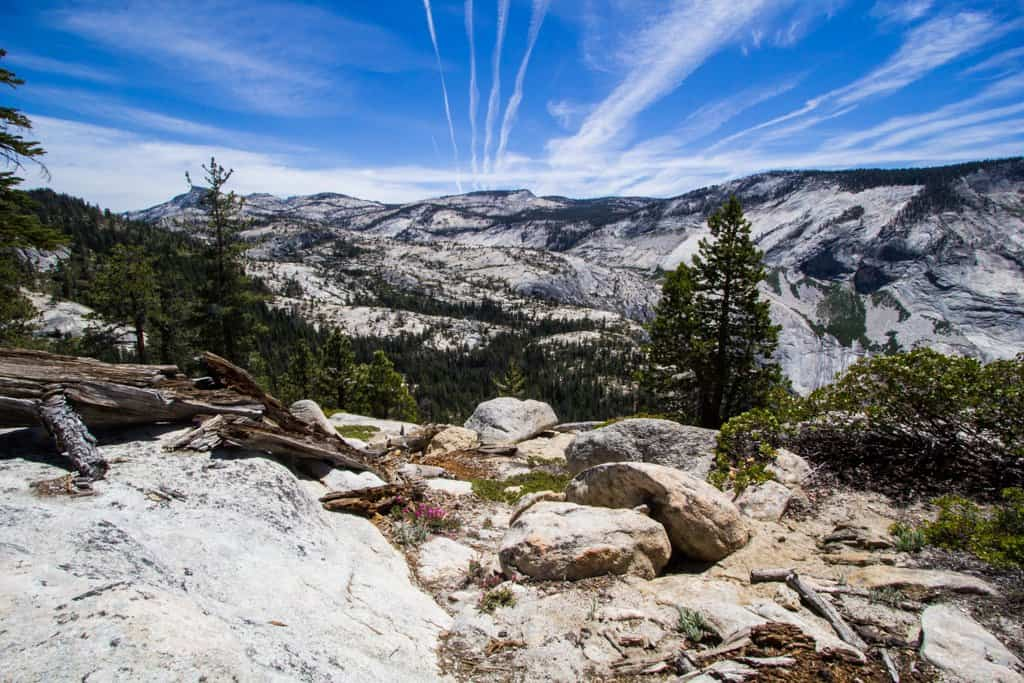 Yosemite Clouds Rest Hike 1