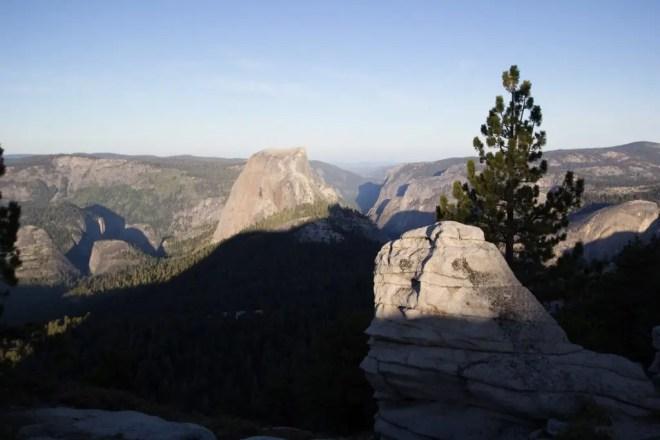 Yosemite Clouds Rest Sunrise Halfdome