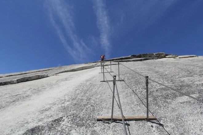 Yosemite Half Dome Climb