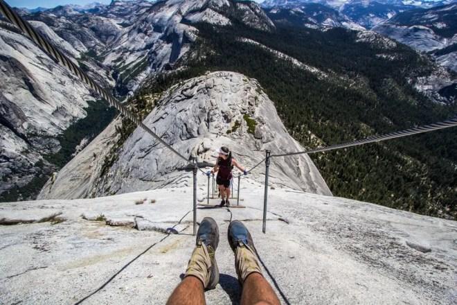 Yosemite Half Dome Feet
