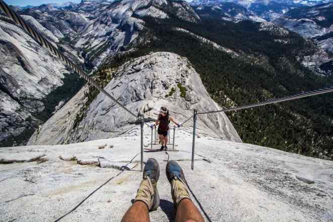 Yosemite Half Dome Feet