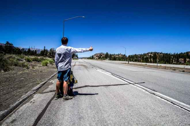 Yosemite Hitchhiking Moist