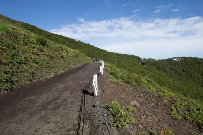 Mount Fuji Railings