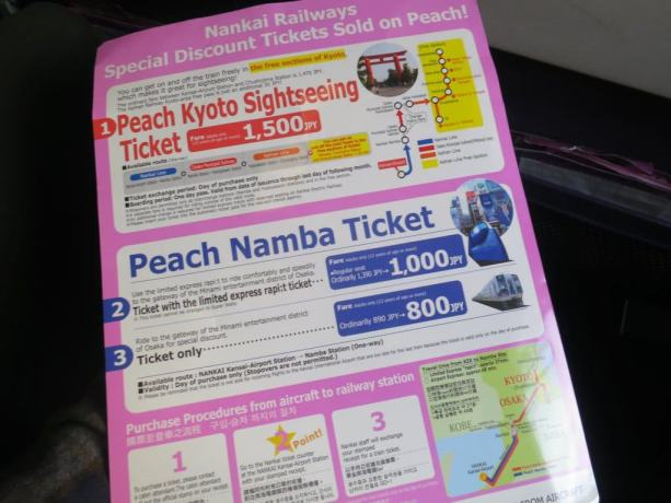 Peach Advertisements