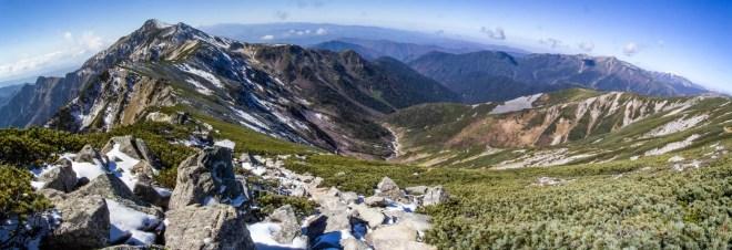 Mount Kasa summit, Gifu, Japan