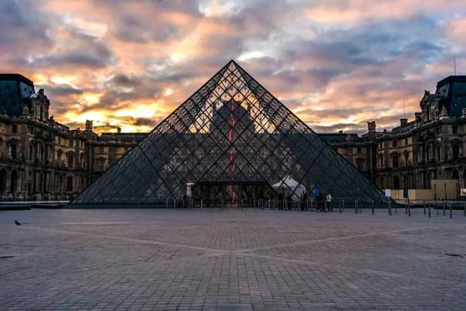 Louvre Sunrise Paris