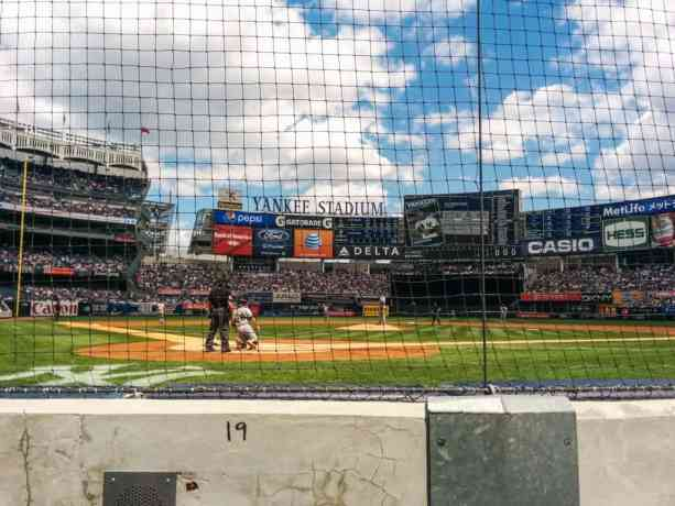 New York Yankees Row One