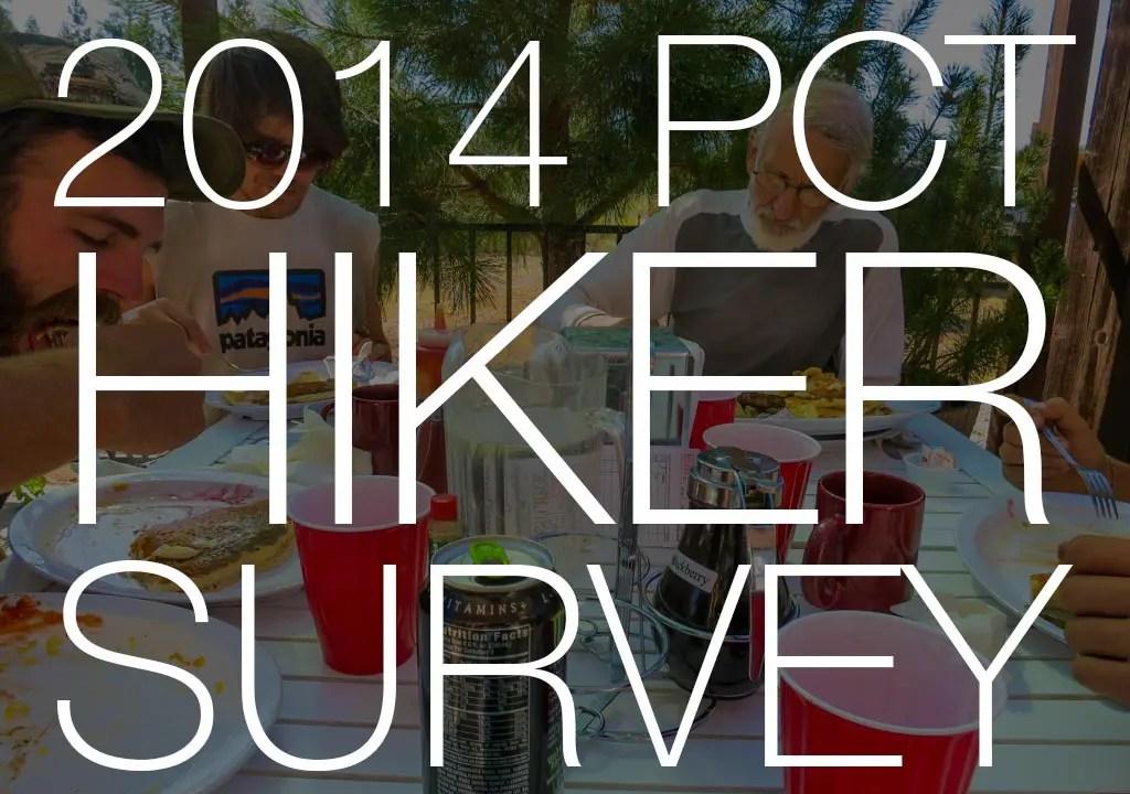 PCT Hikers Breakfast NorCal PCT Hiker Survey