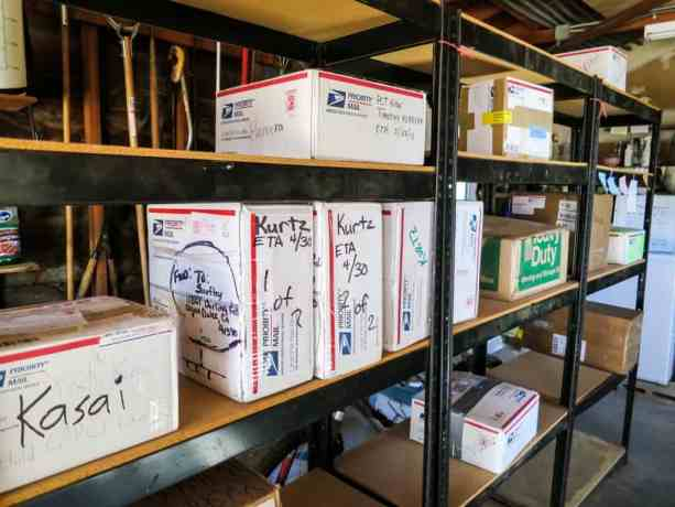 Saufleys PCT Resupply Boxes