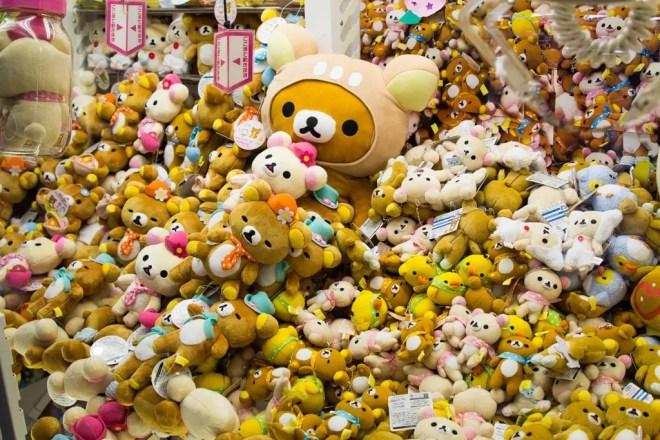 Tokyo Stuffed Animals