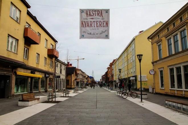 Umea Streets