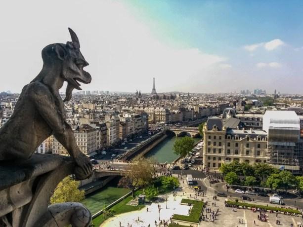 View Of Paris Notre Dame