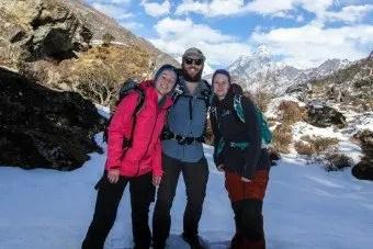 German Hikers Khumjung EBC