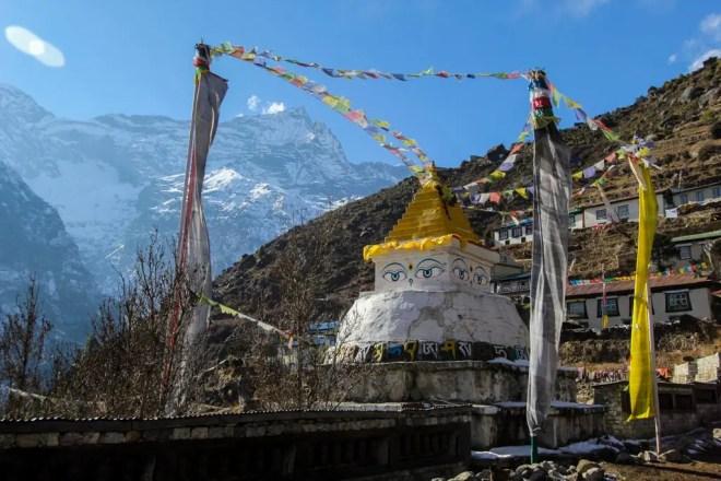Namche Bazaar Stupa