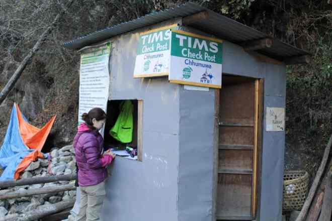 TIMS Checkpoint Nepal