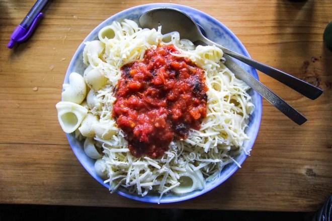 Namche Bazaar Pasta Breakfast