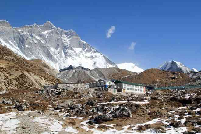 Himalaya Bottom of Chukhung