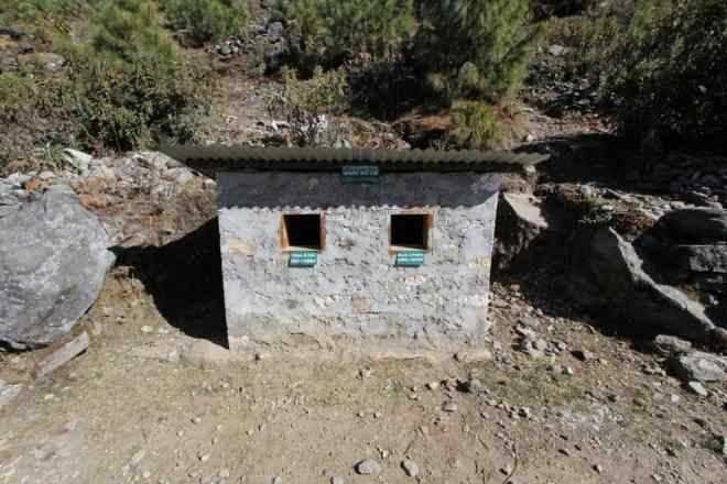Nepal Himalaya Garbage Can