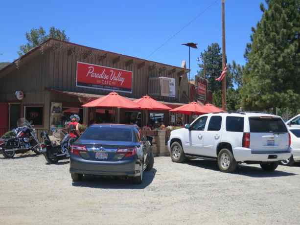 PCT Paradise Valley Cafe Cars