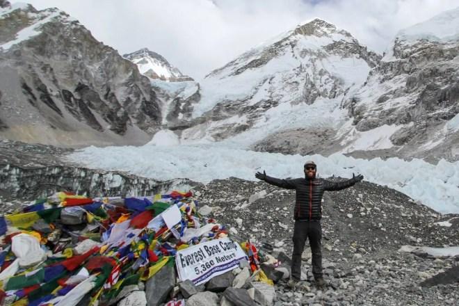 Mountain Hardwear Ghost Whisperer Everest Base Camp Nepal Himalaya