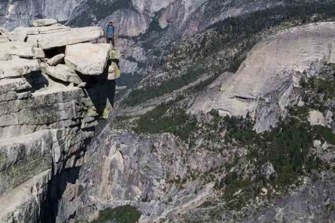 Yosemite Diving Board Edge Self