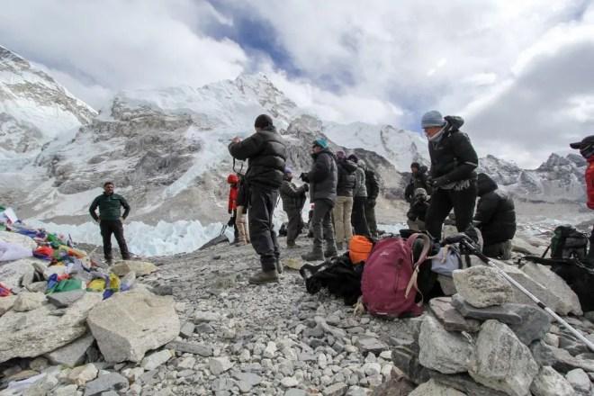 Everest Base Camp Trek EBC People
