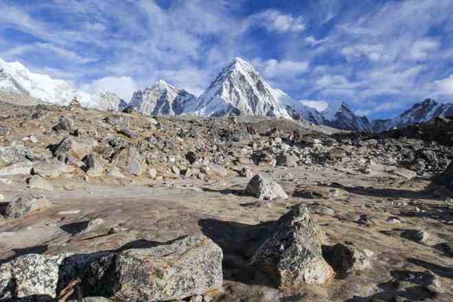 Everest Base Camp Trek Mountains Sky