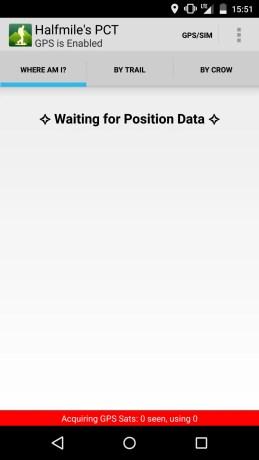 Halfmile PCT App Screenshot 1