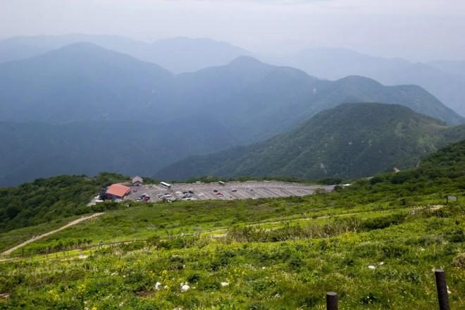 Mt Ibuki Summit Parking Lot