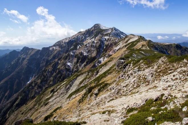 Mount Kasagatake Summit