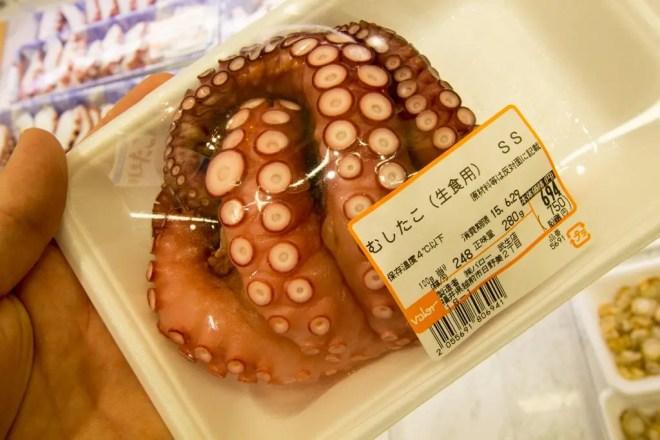 Japanese Supermarket Octopus