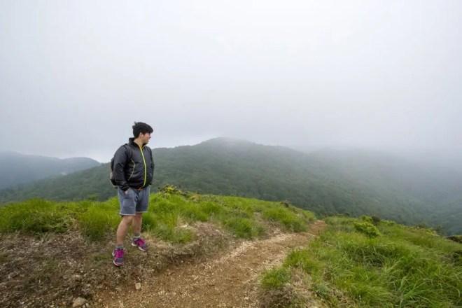 Mt Bunagatake Summmit Clouds