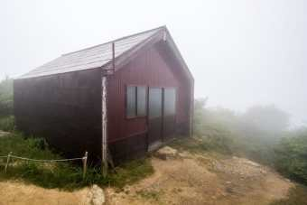 Mt Nosaka Summit Shelter