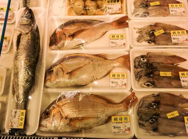 Japan Supermarket Fish