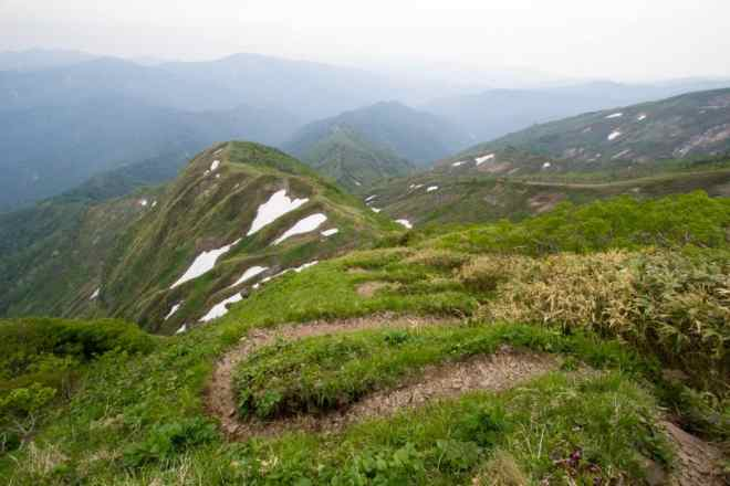 Mt Sannomine Spine Trail