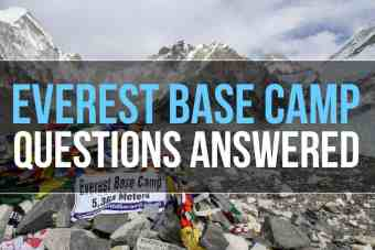 Everest Base Camp Trek Questions Answered!