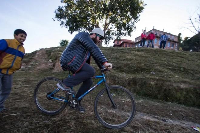 Kathmandu Mac Bike Riding