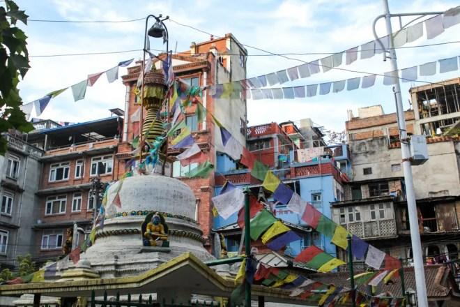 Kathmandu Stupa Flags