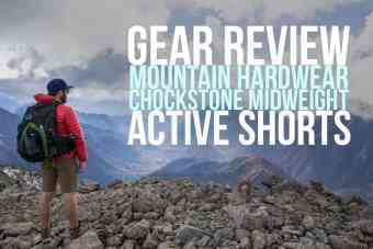 Mountain Hardwear Chockstone Midweight Active Shorts Review