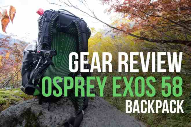Osprey Exos 58 Backpack Featured