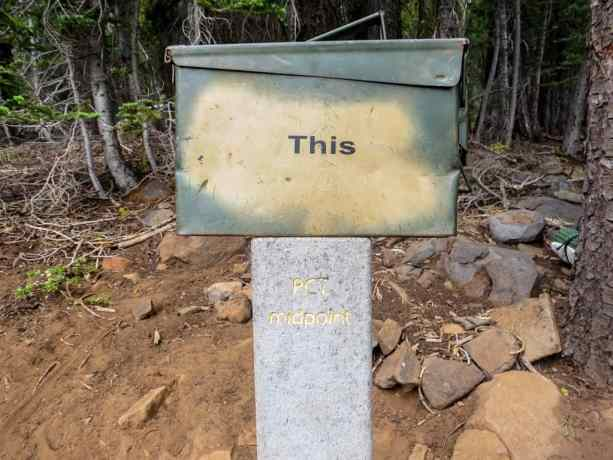 PCT Norcal Midpoint Marker