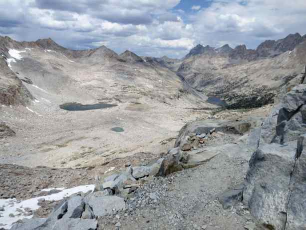 PCT Sierra Alpine View
