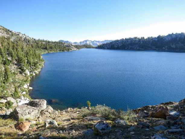 PCT Sierra Virginia Lake