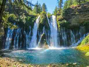 PCT Northern California Burney Falls