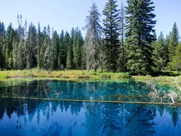 PCT Oregon Little Crater Lake
