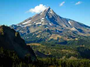 PCT Oregon Mount Jefferson