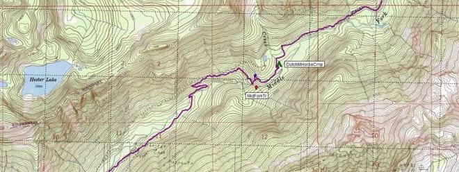 PCT-Washington-Goldmyer-Map