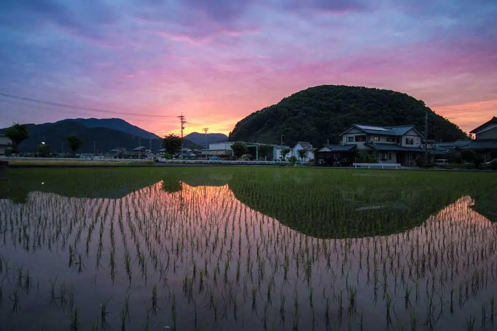 Japan-Fukui-Echizen-Sunset