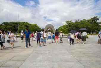 Japan-Hiroshima-Memorial-Park-Afternoon