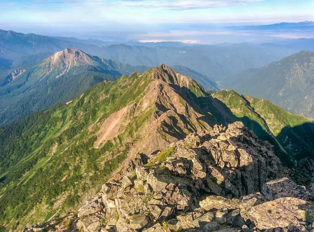 Japan-Kita-Alps-Okuhotaka-Traverse-View